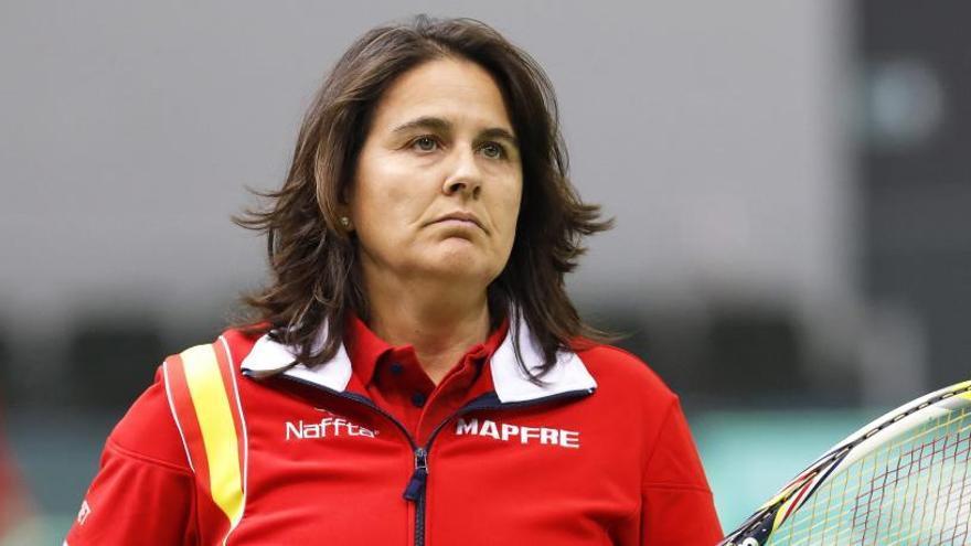 Conchita Martínez, destituida como capitana