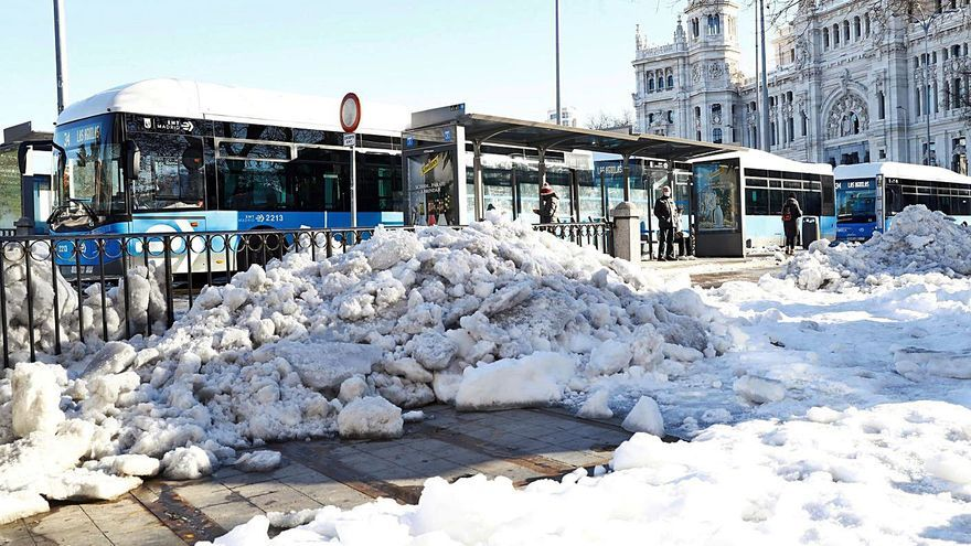 España se congela al registrar las temperaturas más bajas en dos décadas