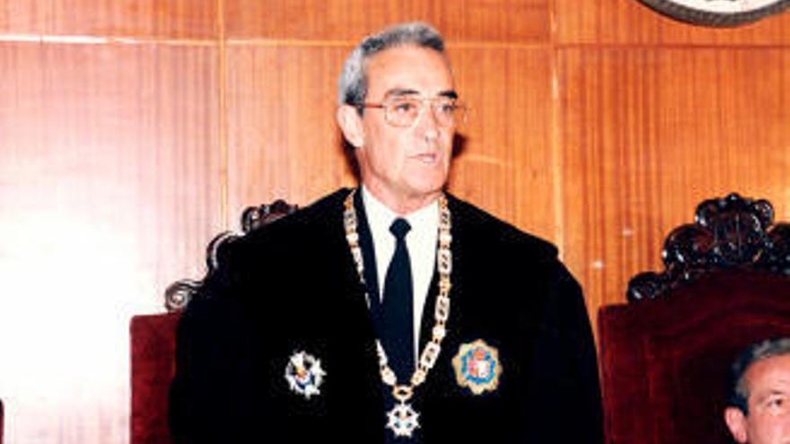 Muere el expresidente del Tribunal Superior de Justicia, el gallego Ángel Reigosa