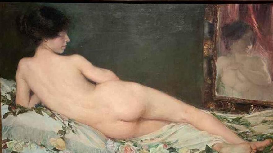'Desnudo femenino', de Aurora Navarro