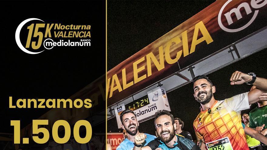 La 15K Nocturna de València abre inscripciones