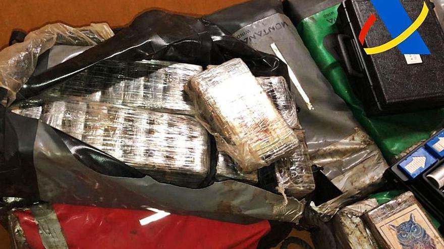 Los narcos mantienen a Canarias como puerto de escala de la cocaína de Brasil