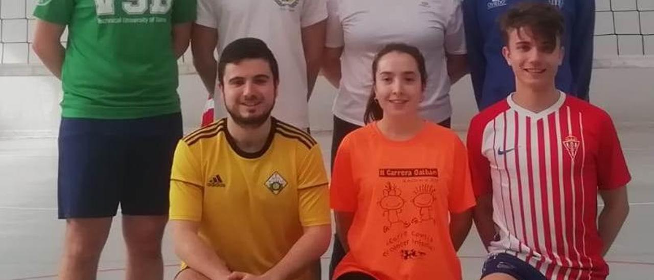 El equipo de Historia, nuevo líder en la liga de voleibol