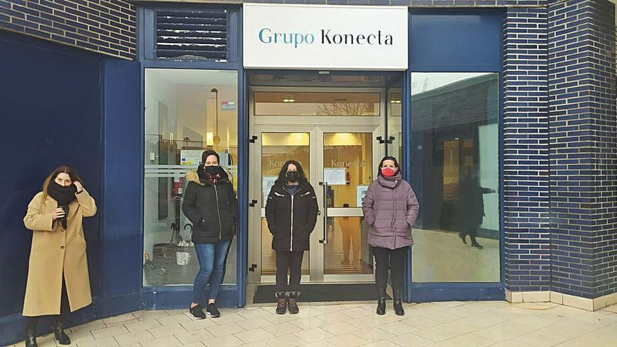 El comité cifra en un 80% el paro en Konecta