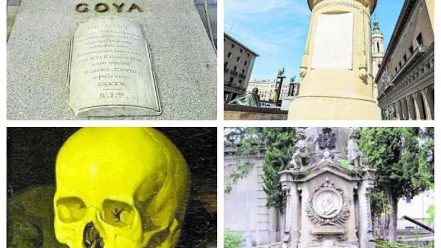 Cuatro tumbas  sin cabeza