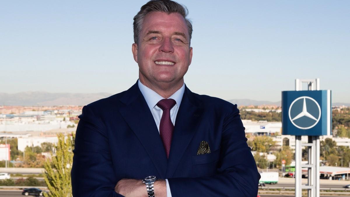 Roland Schell, presidente de Mercedes-Benz España