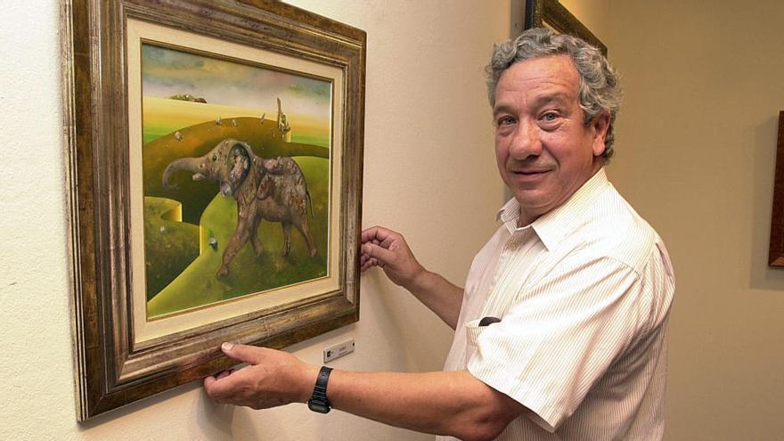 Muere el pintor vigués Urbano Lugrís Vadillo