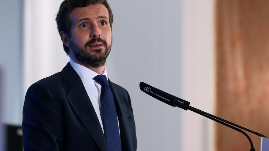 """Pablo Casado: """"No nos fiamos ya del gobierno"""""""