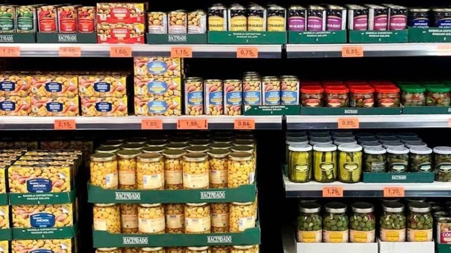 Mercadona vende un 45% más de aceitunas y encurtidos por los nuevos hábitos