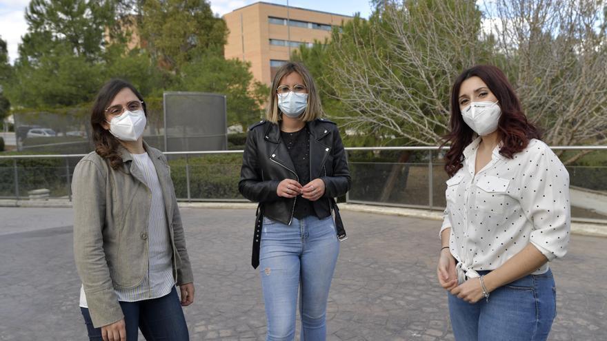 Tres investigadoras de la UMU, jóvenes promesas de la ciencia regional