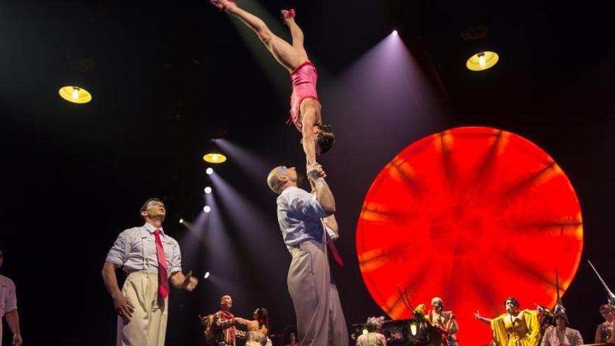 El Circo del sol estrena sus espectáculos en abierto por la crisis del coronavirus
