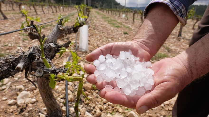 Alerta naranja: fuertes lluvias y más granizo en Castellón en los próximos días