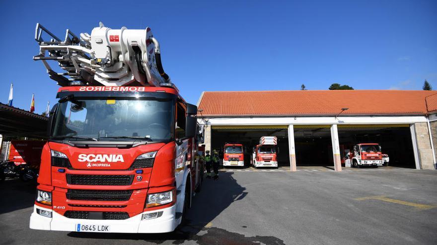 Los bomberos de Pontevedra, pioneros en equipación tecnológica