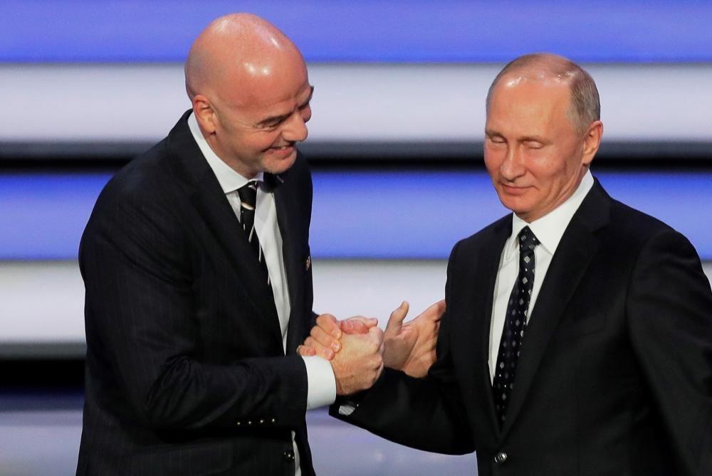 Las imágenes del sorteo del Mundial 2018