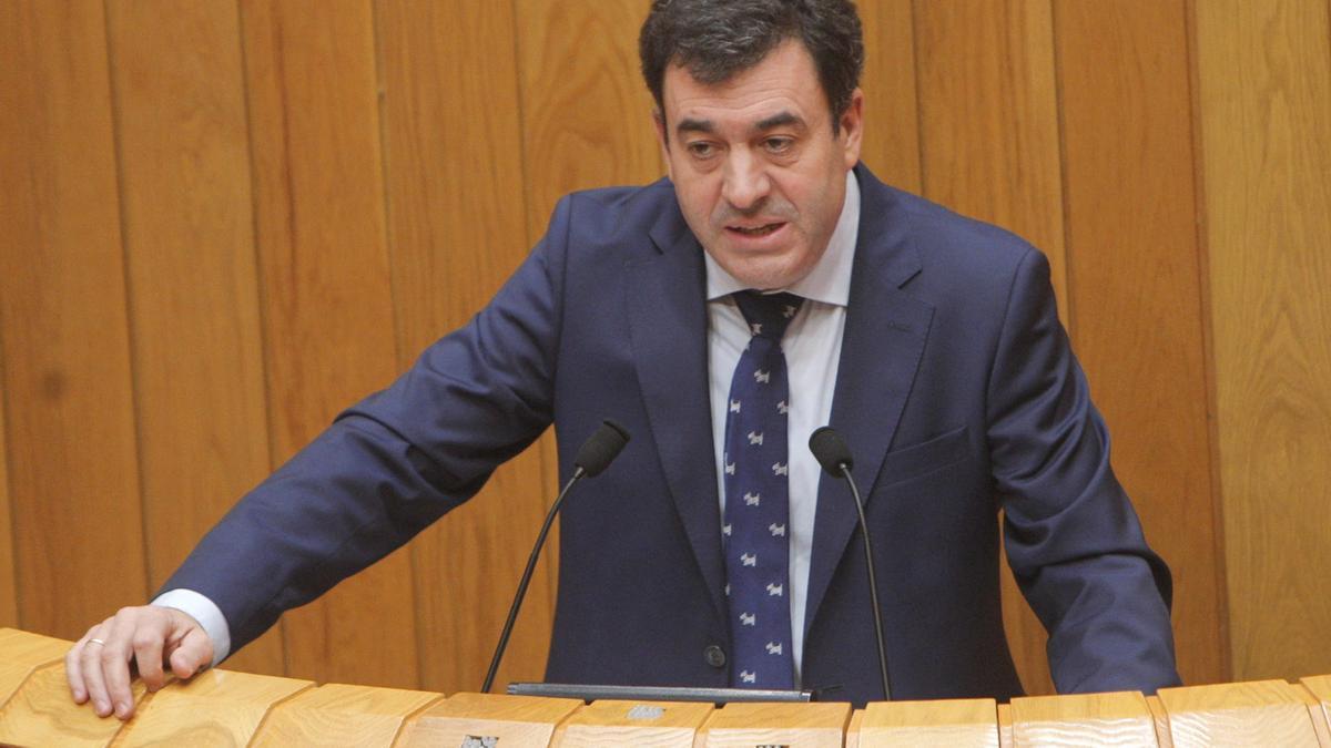 El conselleiro de Educación, Román Rodríguez.