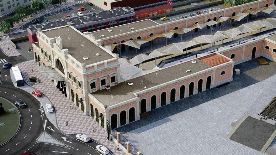 """Adif licitará de manera """"inmediata"""" las obras para la reforma integral de la estación de tren de Cartagena"""