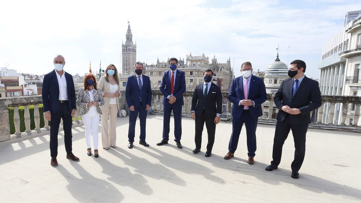 Reunión del grupo de las Ciudades Patrimonio en Sevilla.