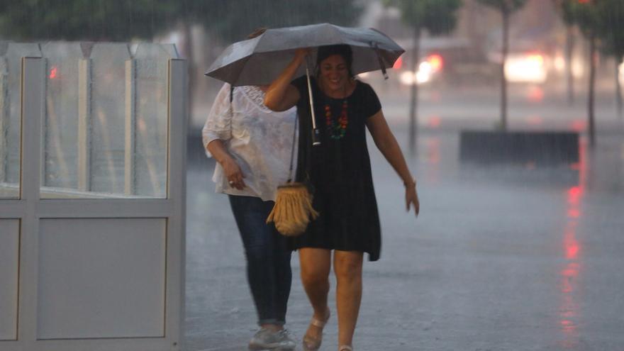 Alerta en Valencia por la llegada de tormentas con granizo y fuertes lluvias