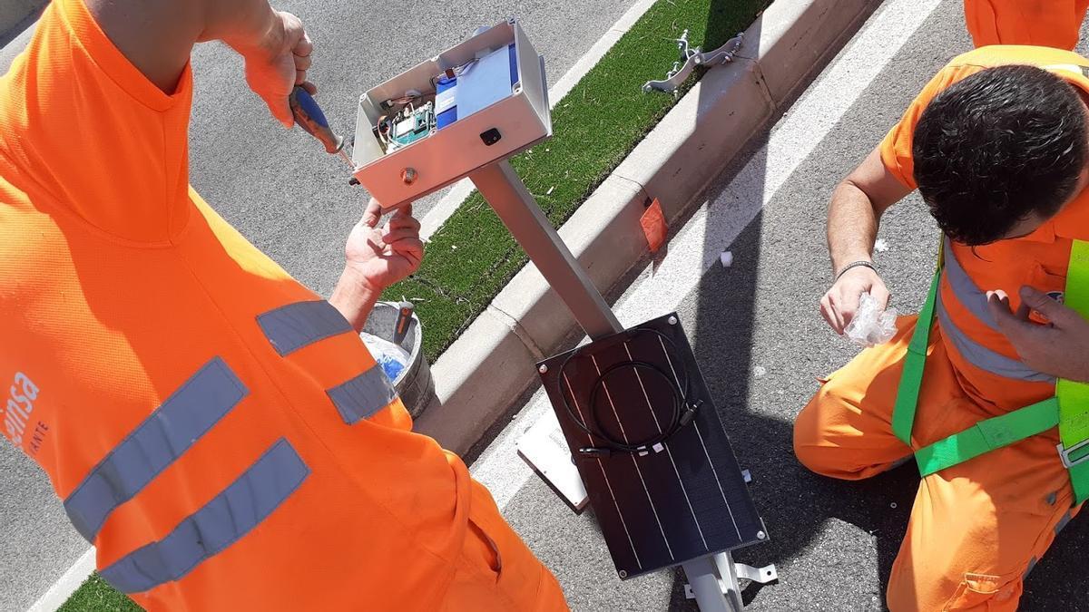 Un sistema de sensores alertará de los puntos que pueden sufrir inundaciones