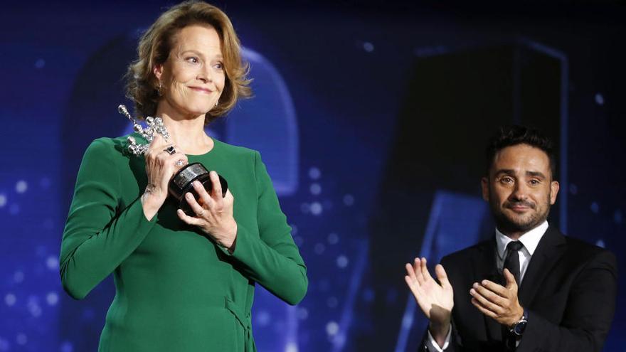 "Sigourney Weaver recibe el Premio Donostia: ""Hoy soy española"""
