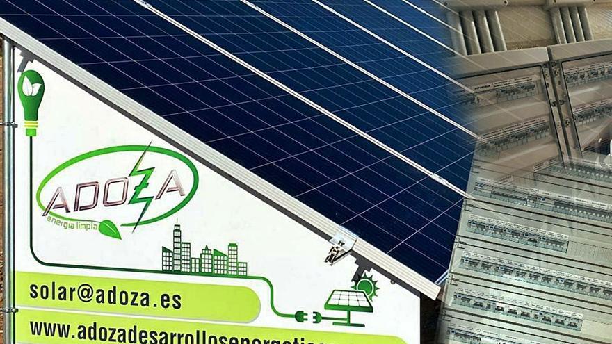 Adoza, electricidad y renovables