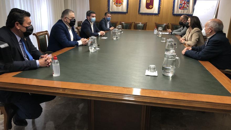 La Región se alía con la Comunidad Valenciana y Andalucía en defensa del Tajo-Segura