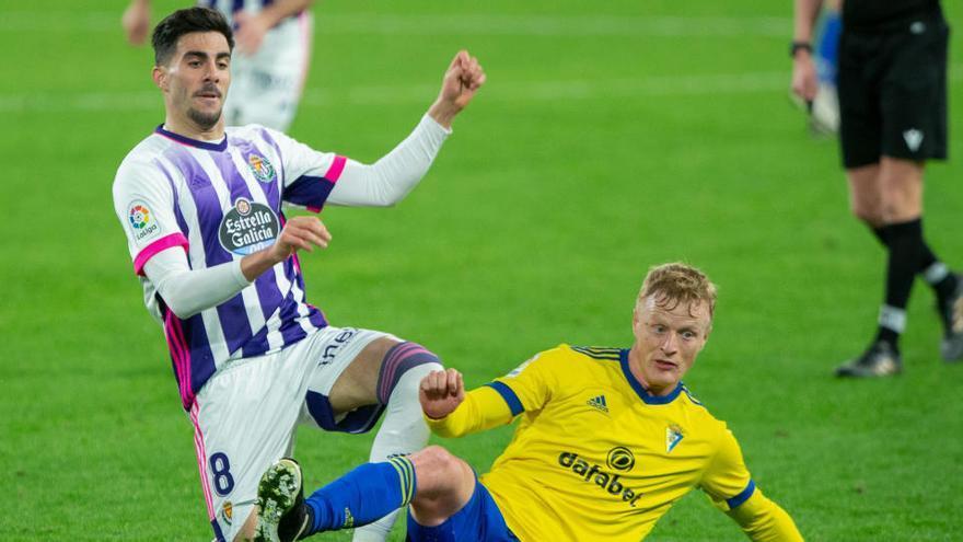 Cádiz y Valladolid, empate suficiente