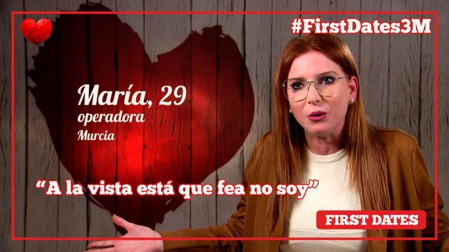 """Una joven de Murcia busca en 'First Dates' su hombre ideal: """"Como Santiago Abascal, muy facha"""""""