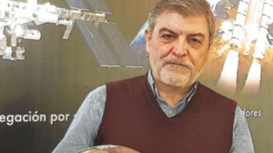 Jesús Martínez Frías: «El aplauso a los sanitarios del coronavirus llegará a Marte»