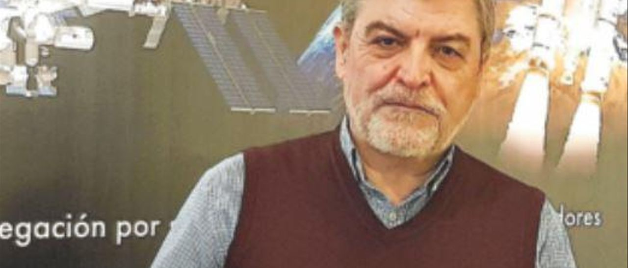 El experto en geología planetaria Jesús Martínez Frías.