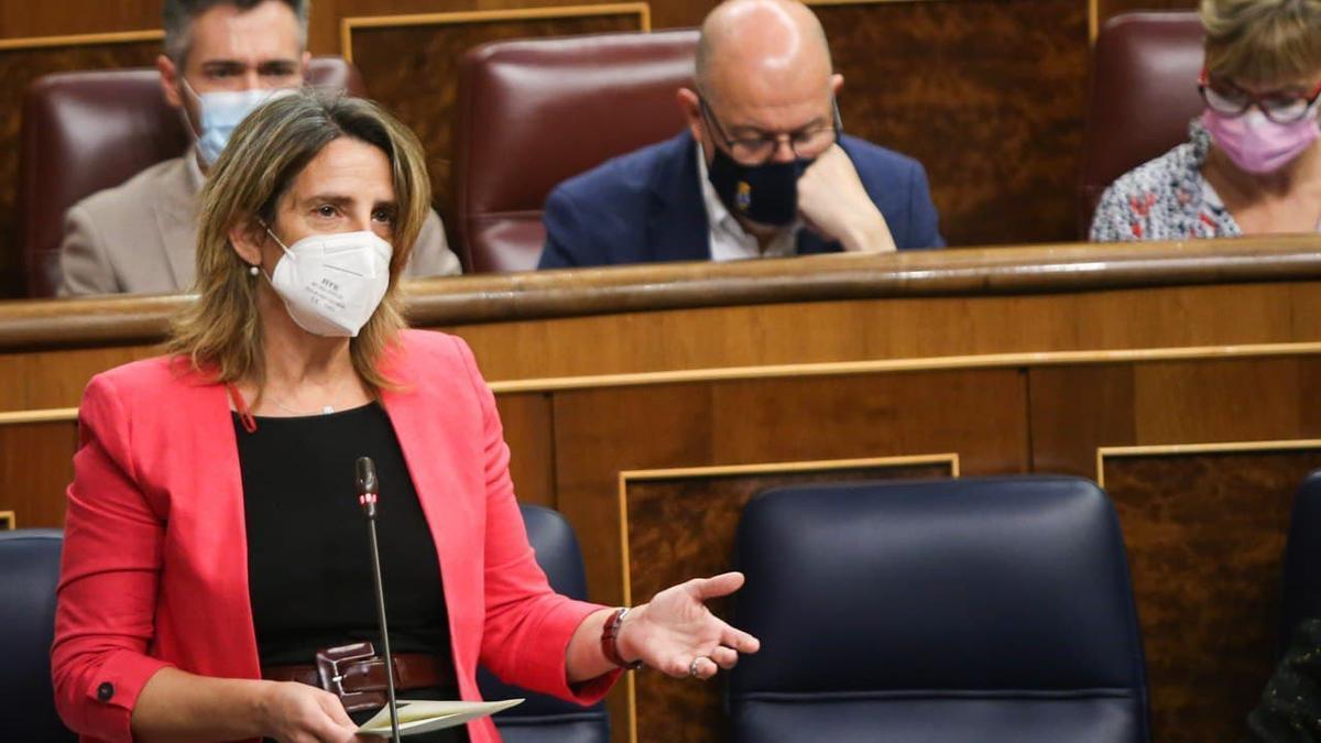 La vicepresidenta para la Transición Ecológica, Teresa Ribera.