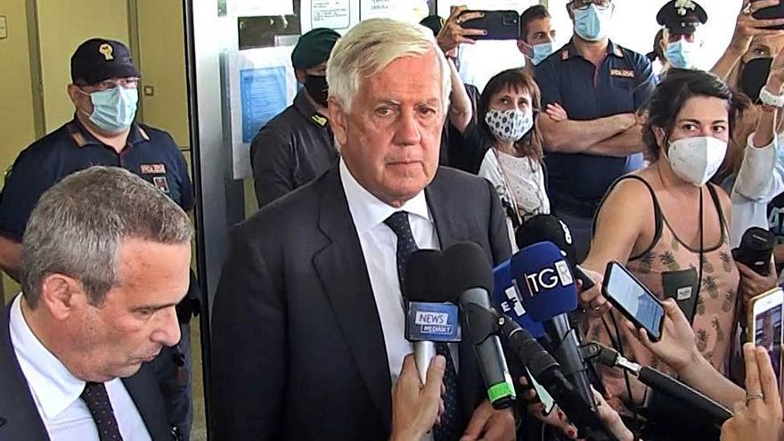 Agostinangelo Marras, l'advocat italià de l'expresident