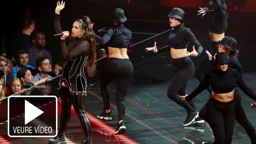 Rosalía guanya dos premis MTV a millor coreografia i millor vídeo llatí per la cançó «Con altura»