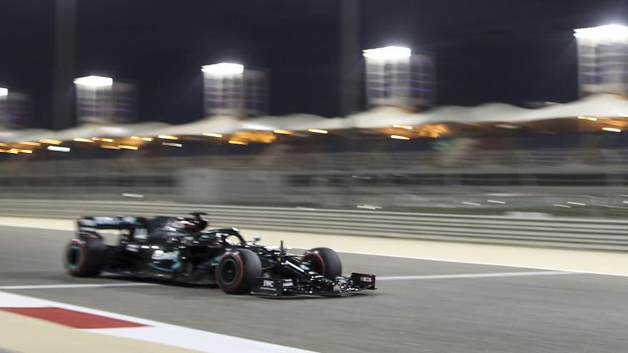 Hamilton, 'pole' de campeón