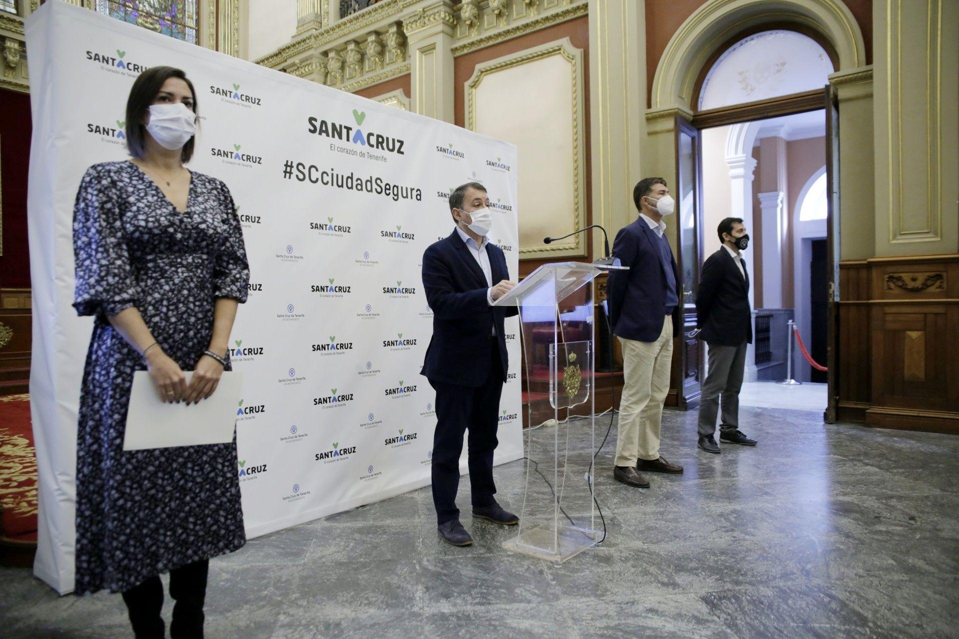 Presentación proyectos Santa Cruz fondos europeos