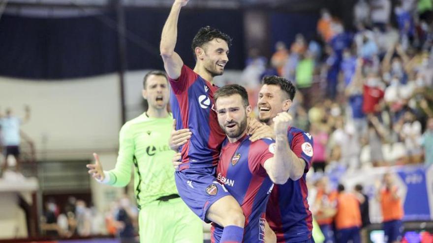 El Llevant UE FS jugarà la final pel títol i la Champions