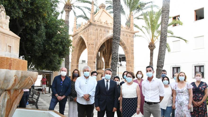 Homenaje en Xàbia a Vicent de Gràcia, el gran escultor de la piedra tosca