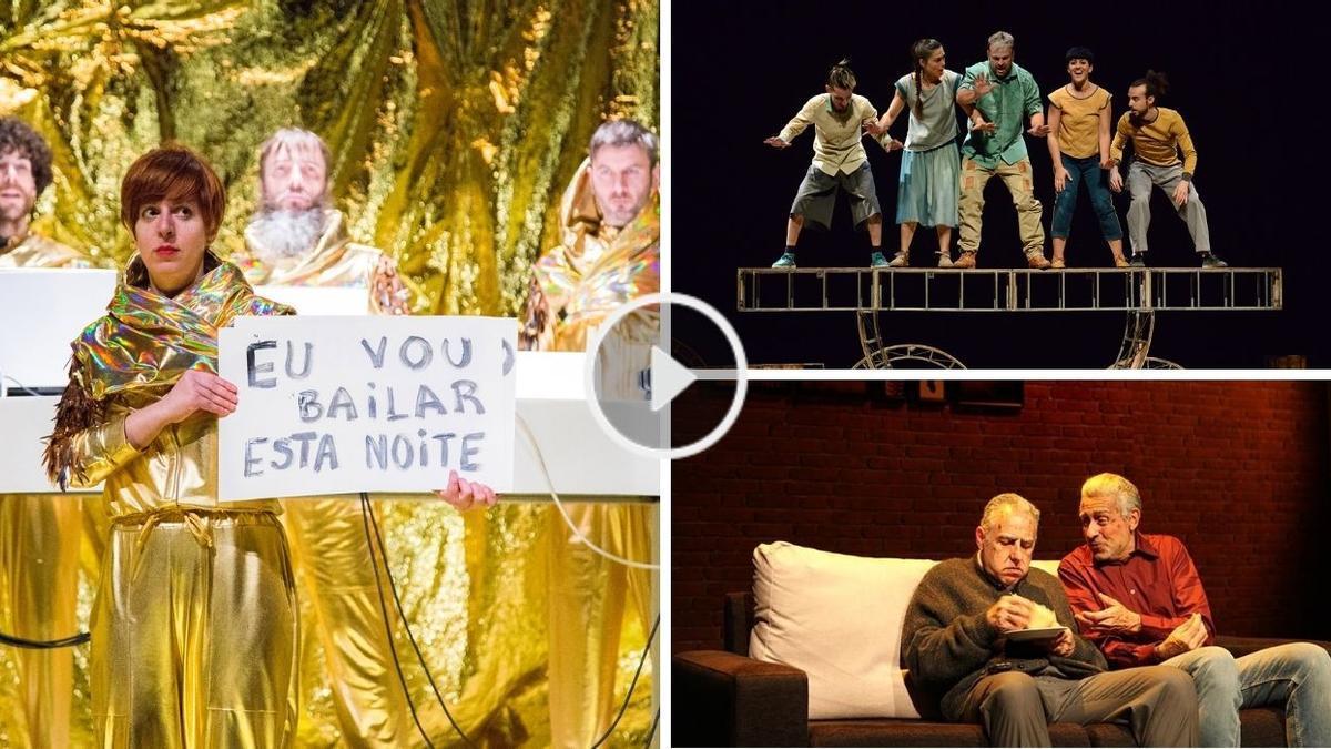 Algunos de los espectáculos programados en Vigo el próximo fin de semana