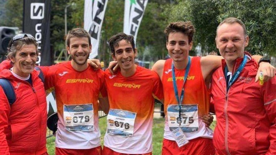 Reventón El Paso Fred.Olsen Express, en la World Mountain Running Association