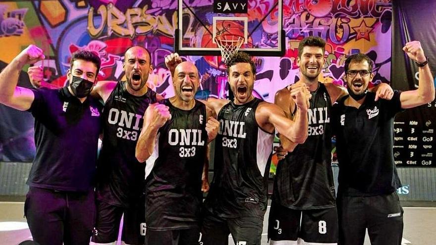 El Onil se codea con los mejores de Europa en   el basket 3x3