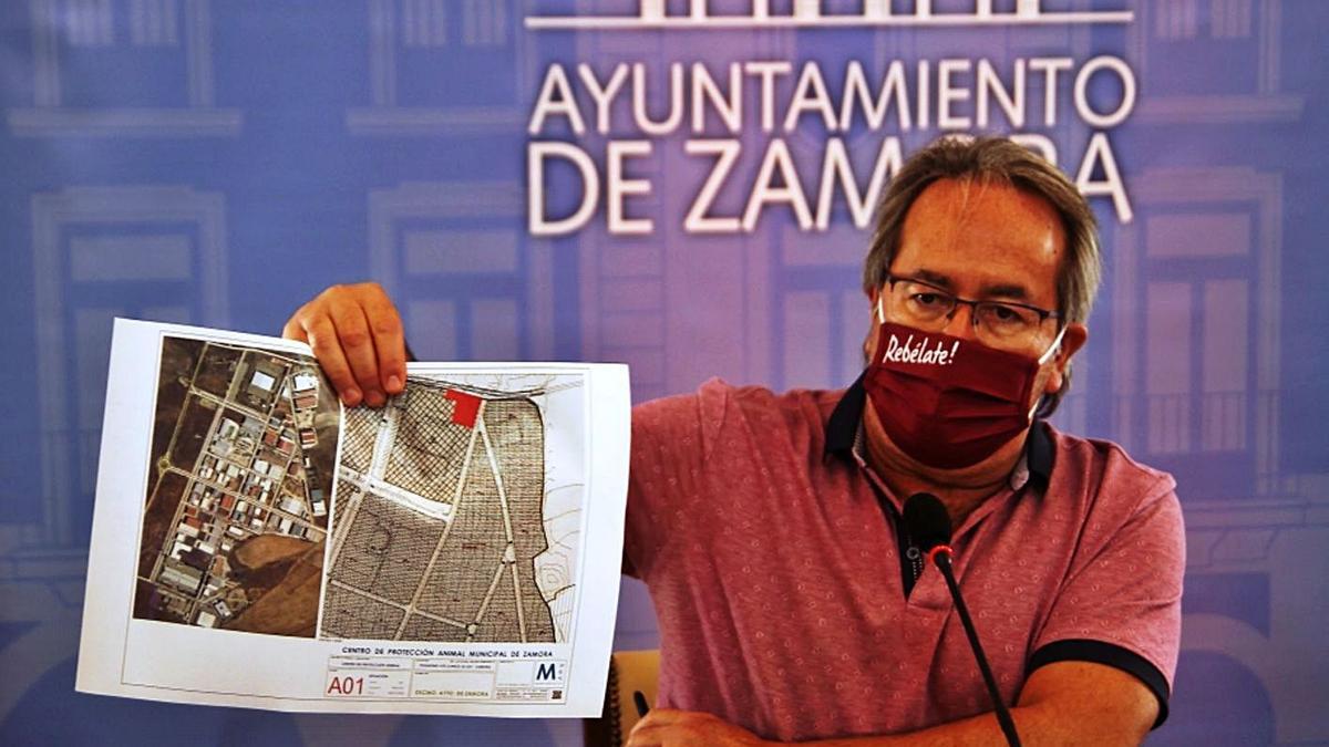 El alcalde, Francisco Guarido.