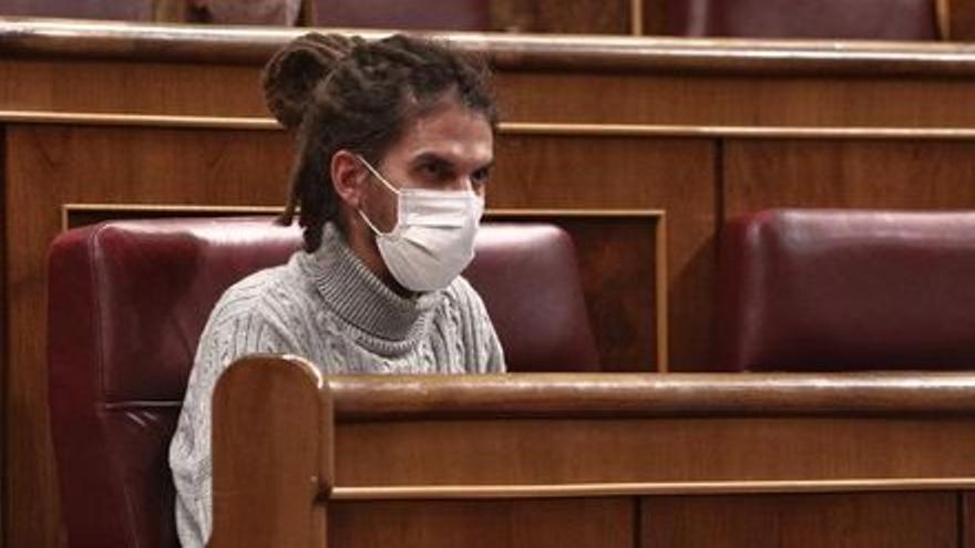 El Supremo vuelve a citar al diputado 'morado' Alberto Rodríguez