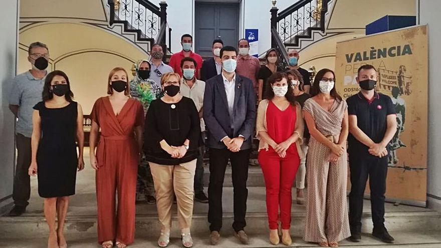 El Fons i la Diputació presenten el projecte «València per la pau»