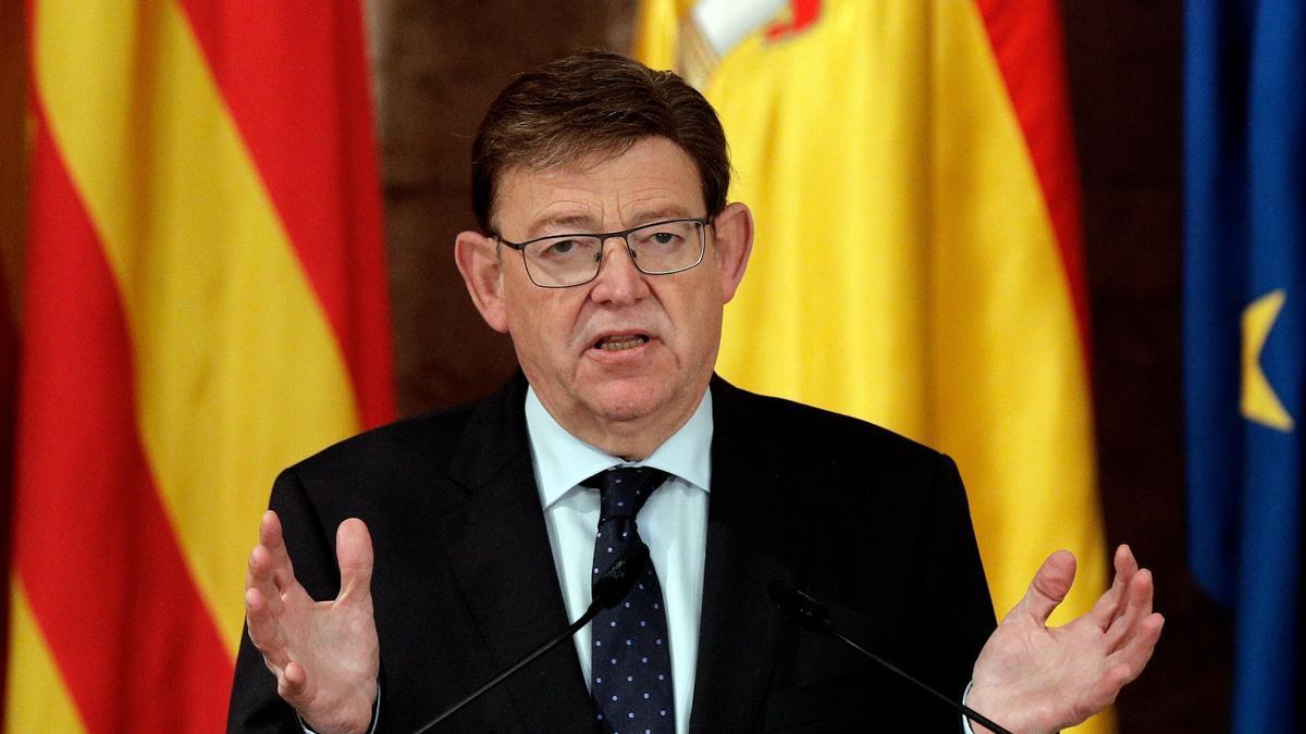 El presidente de la Generalitat, Ximo Puig