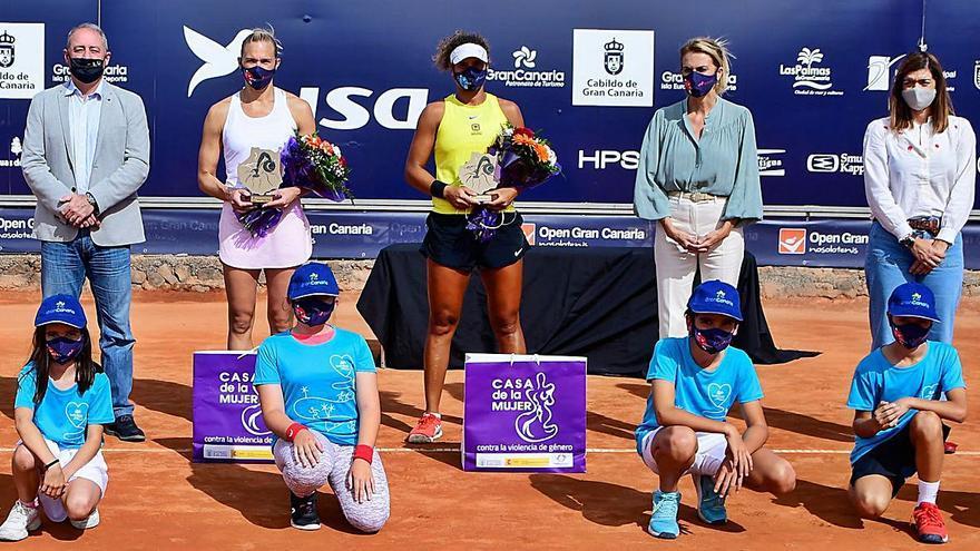 La estonia Kaia Kanepi se adjudica la victoria en el ITF Disa Gran Canaria