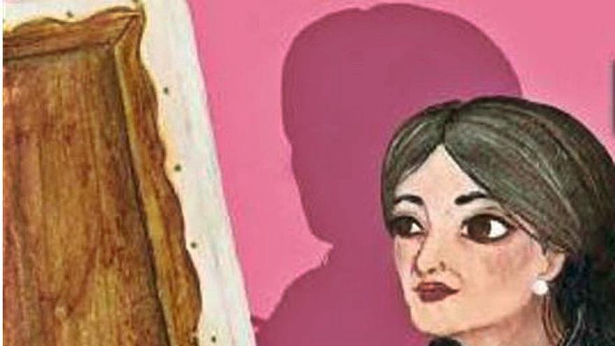 Les lletres i les pintures de Hasbia Mohamed