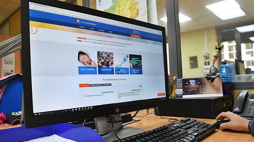 Las empresas gallegas lideran el uso de la administración electrónica en España