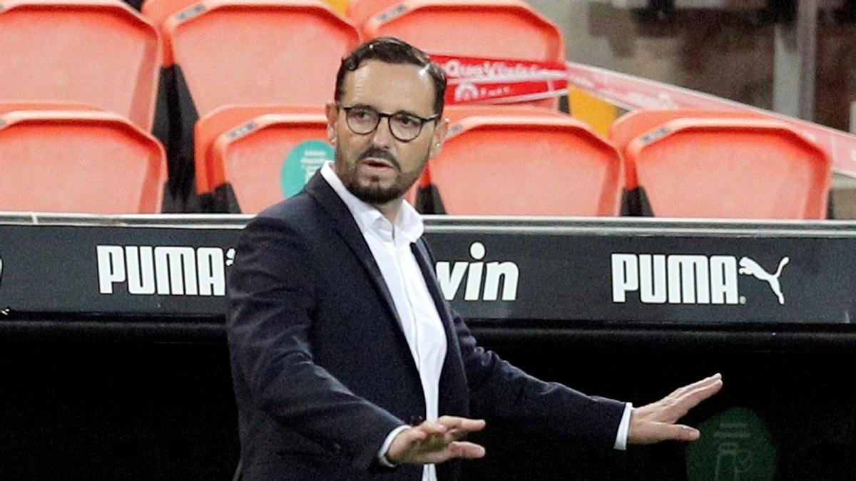 El Valencia confirma el fichaje de Bordalás por dos temporadas.