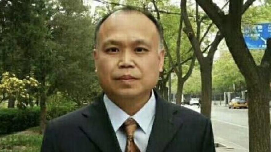 El abogado Yu Wensheng, preso desde 2018, logra el premio Martin Ennals