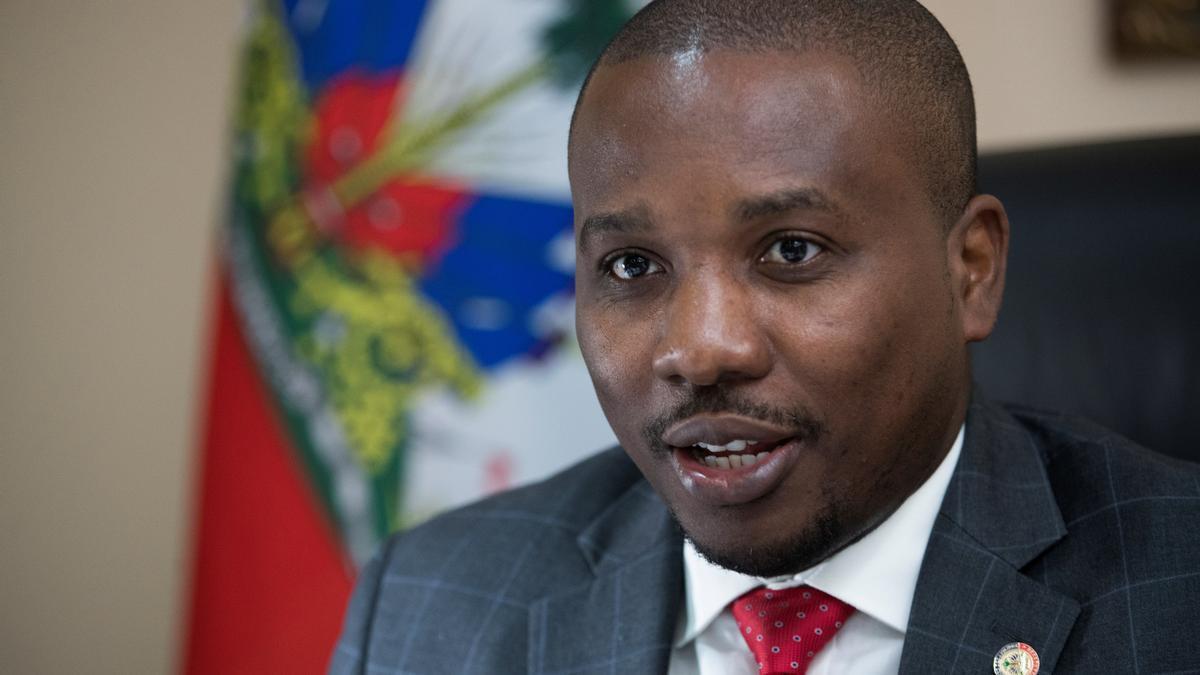 El nuevo primer ministro de Haití, Claude Joseph.